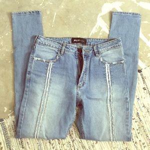 Nasty gal denim sz 28 high rise skinny jeans